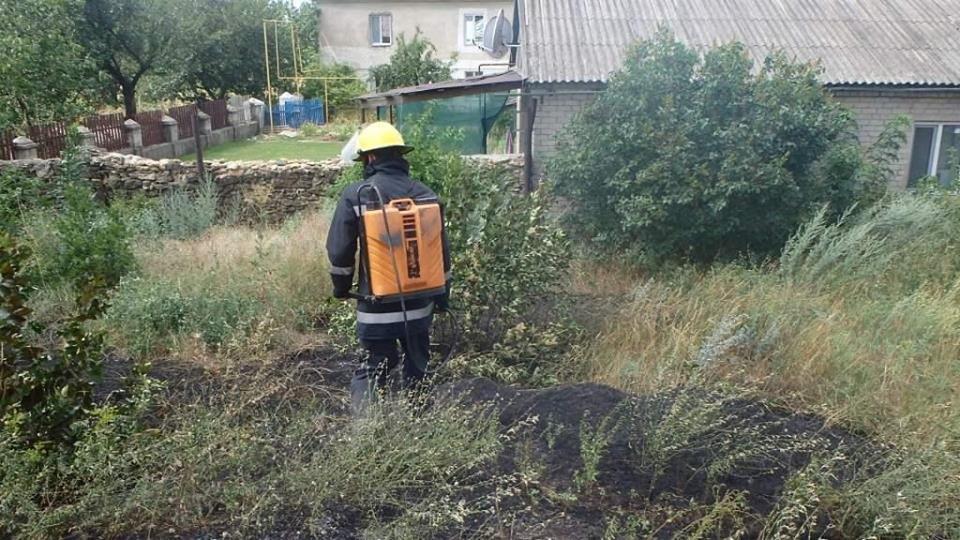 Необережне поводження з вогнем стало причиною пожежі, фото-1