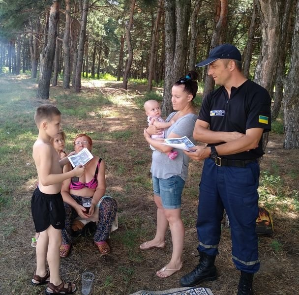 Каховські рятувальники провели рейд у місцях відпочинку , фото-1