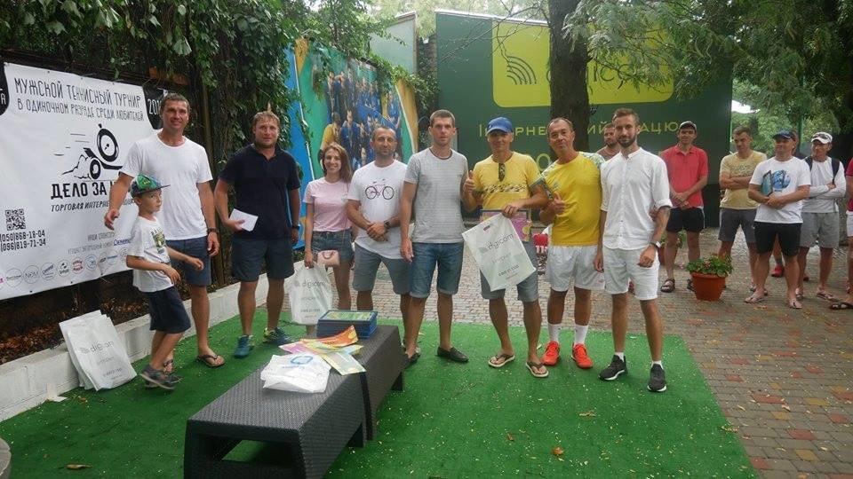 У Херсоні відбувся Відкритий чемпіонат області з тенісу , фото-1