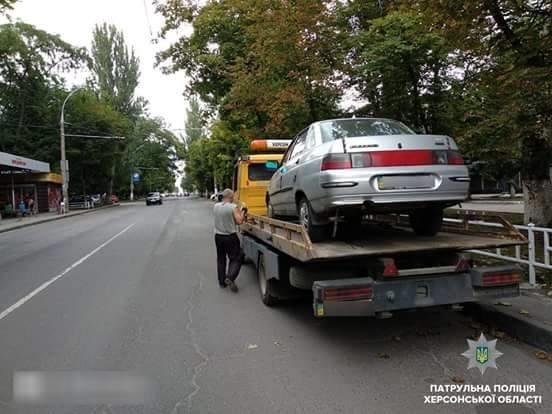 У центрі Херсона нетверезий водій влаштував погоню з патрульними, фото-1