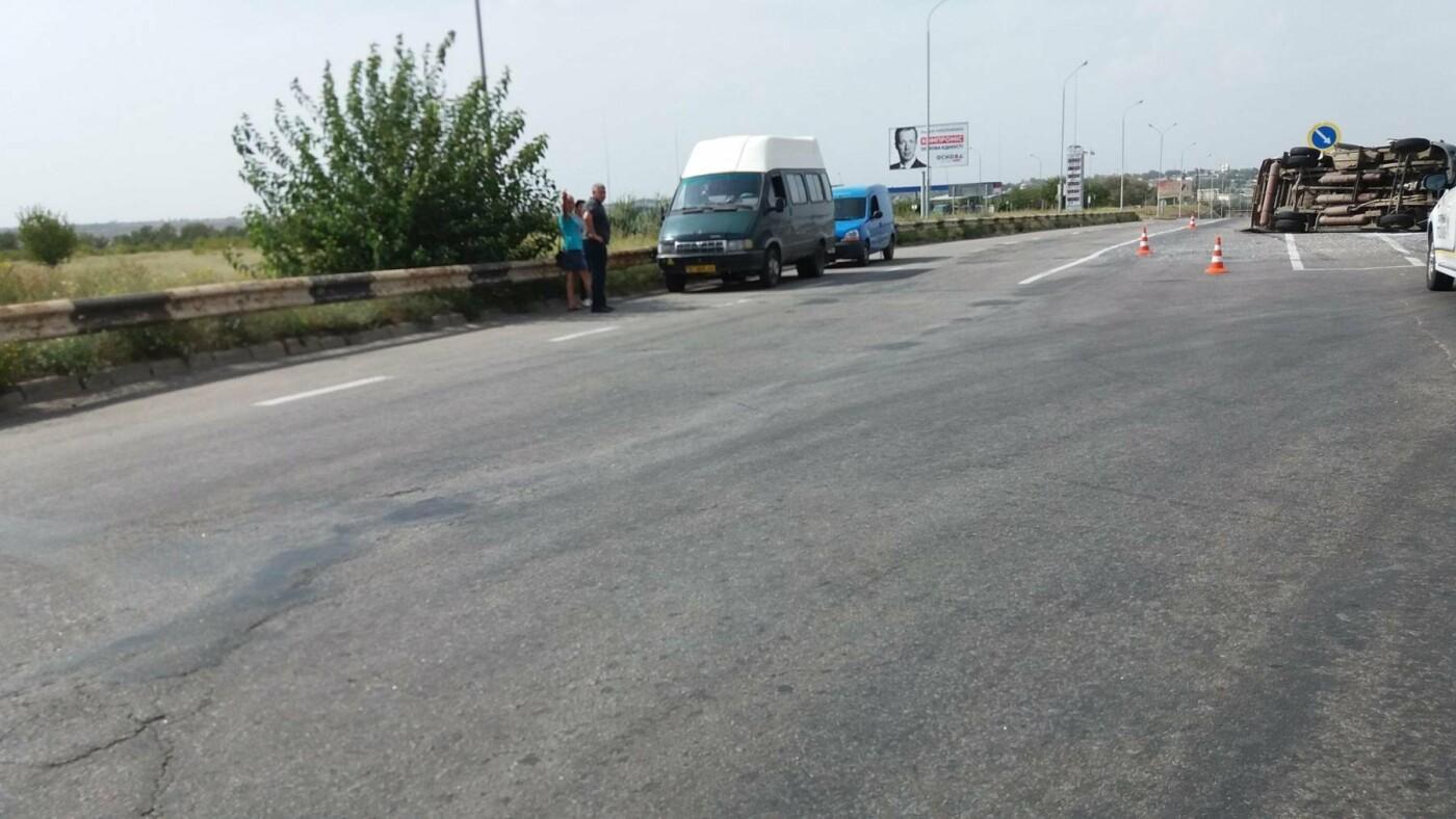 В Херсоне ДТП с участием маршрутки (фото), фото-1