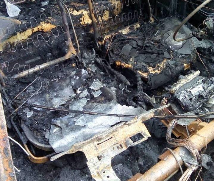 В Херсоне спалили автомобиль члену политической партии (фото), фото-3