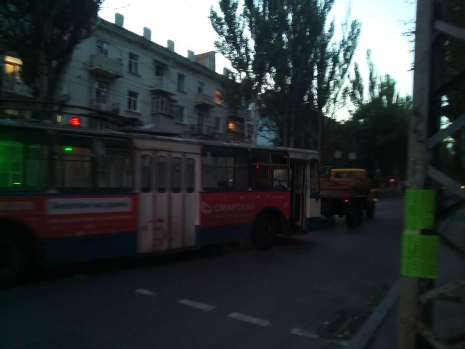 """На счету КП """"Херсонэлектротранс"""" очередная поломка , фото-1"""
