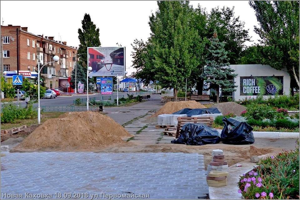Как в райцентре Херсонщины готовятся ко Дню города (фото), фото-1