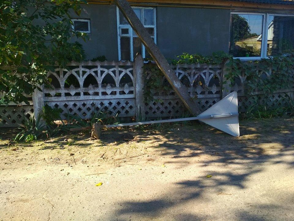 Один из городов Херсонщины остался без дорожных знаков (фото), фото-1