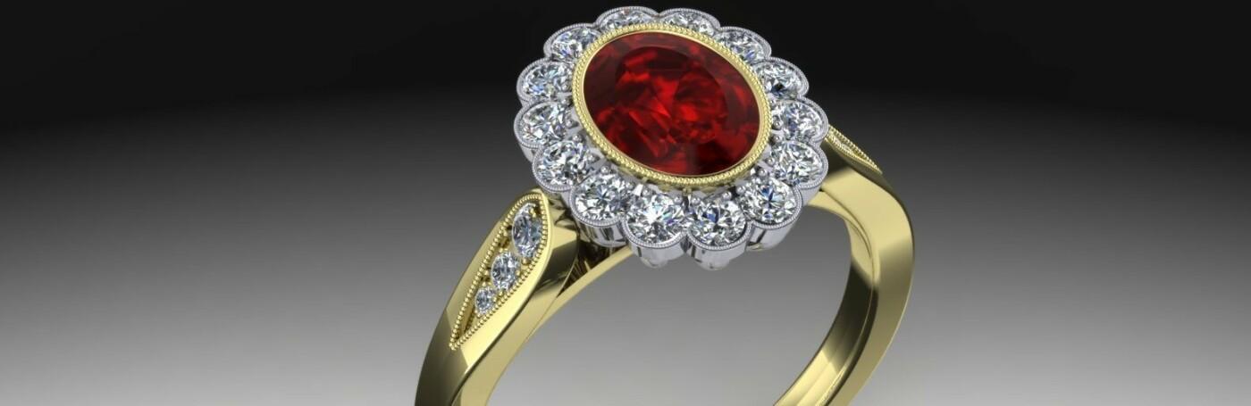 Кольцо с рубином: какие магические свойства скрывает этот камень, фото-1