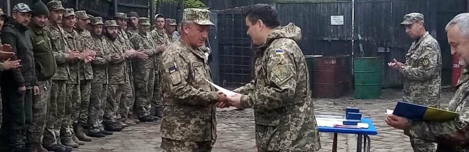 Глава Херсонской областной государственной администрации был в Донбассе и встречался с военнослужащими батальона «Сармат»