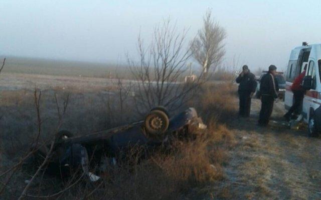 Под Херсоном 16-летний водитель без прав устроил ДТП: пострадали четверо пассажиров